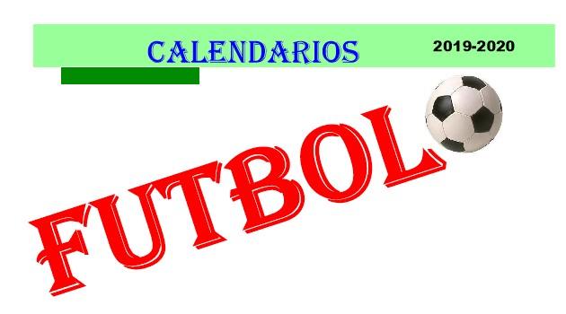 Calendario Futbol 2019.Calendarios Futbol Temporada 2019 20 Portada Deporte Balear