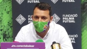 José A Tirado valora la temporada del Palma Futsal