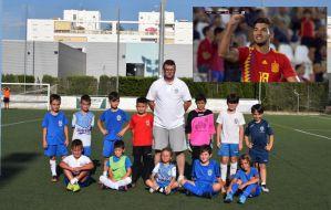 Magin Mir (ex jugador del Mallorca, Albacete etc - escoleta