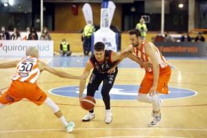 24-10-21.Basket Coruña Leyma - Palma Palmer Mediterránea.Foto : Iago Lopez