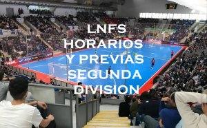 LNFS HORARIOS Y PREVIAS 2