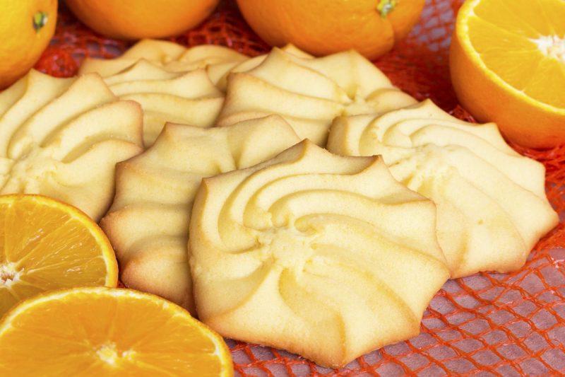 bizcochos con limón y naranja