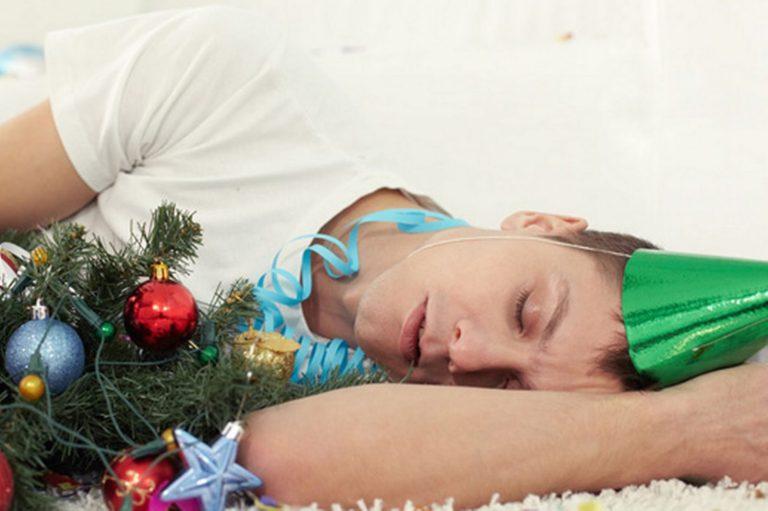 problemas de salud durante la navidad
