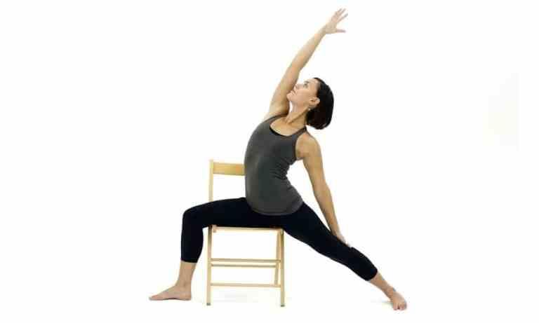 Chair yoga en la oficina