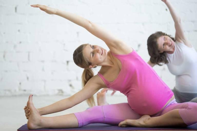 ejercicios para embarazadas estiramientos