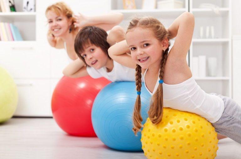 ejercicios para niños