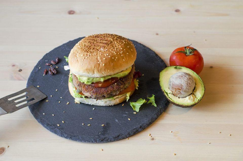 Recetas de hamburguesas vegetarianas de judías pintas