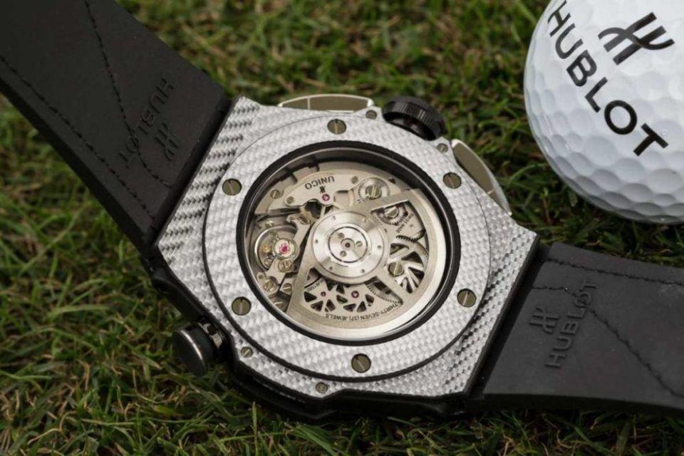 Reloj automático Hublot para jugar al golf