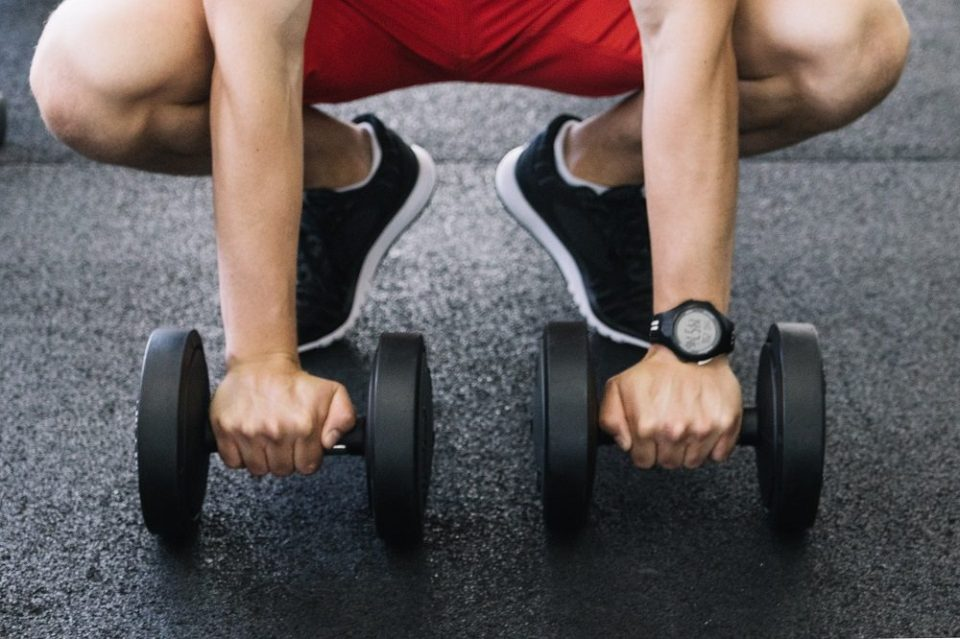 Peso para entrenar cada parte del cuerpo
