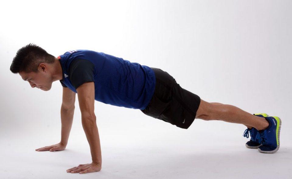 ejercicios de plancha para corredores
