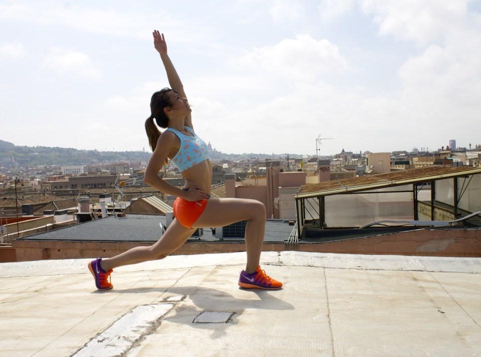 Ejercicios de flexibilidad de cuádriceps