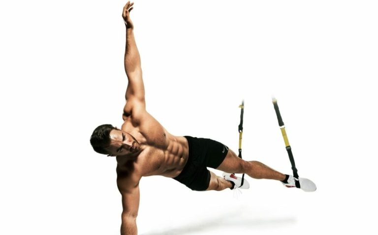 ejercicios de core con TRX