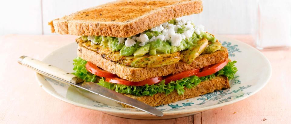 recetas sándwiches pollo