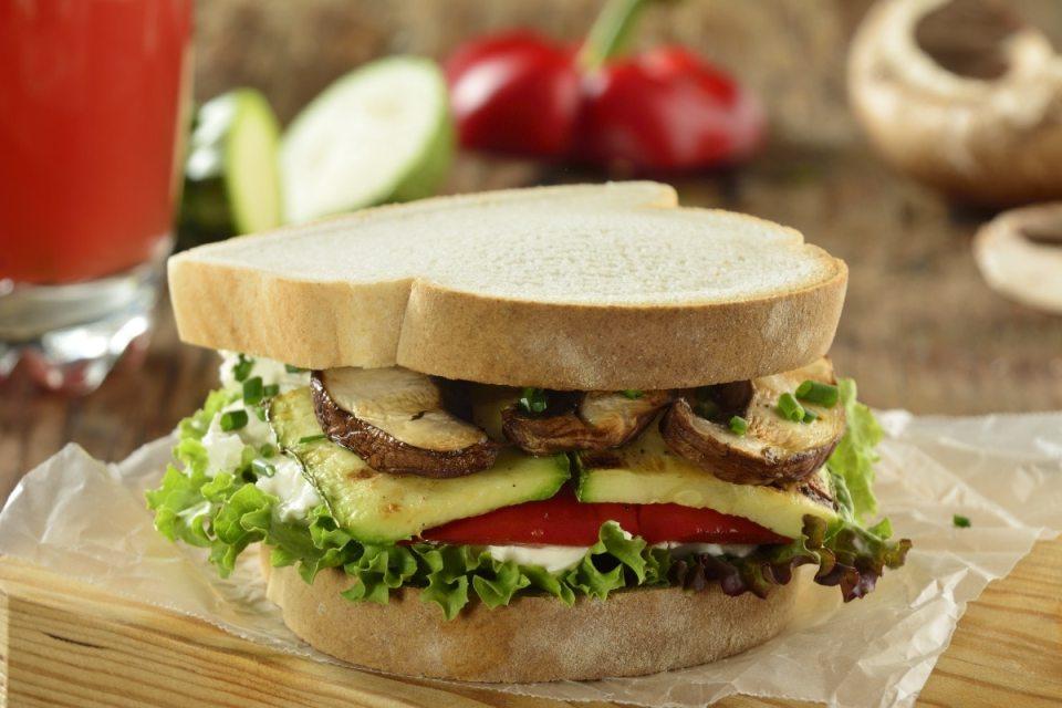 recetas de sándwiches saludables