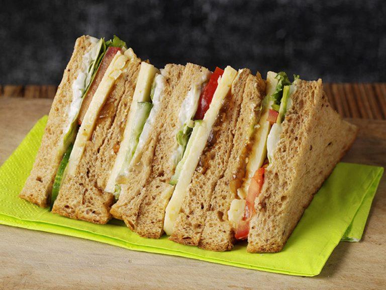recetas de sándwiches saludables para comer o cenar
