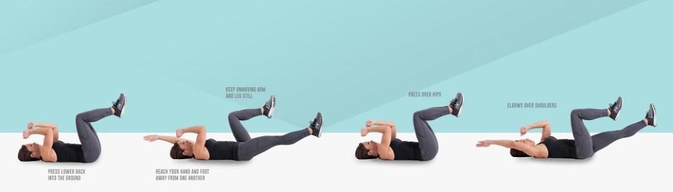 Cómo hacer el ejercicio dead bug