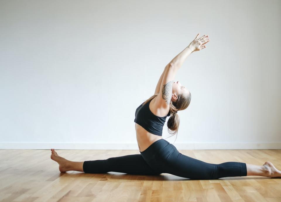 La flexibilidad es uno de los beneficios del split o apertura de piernas