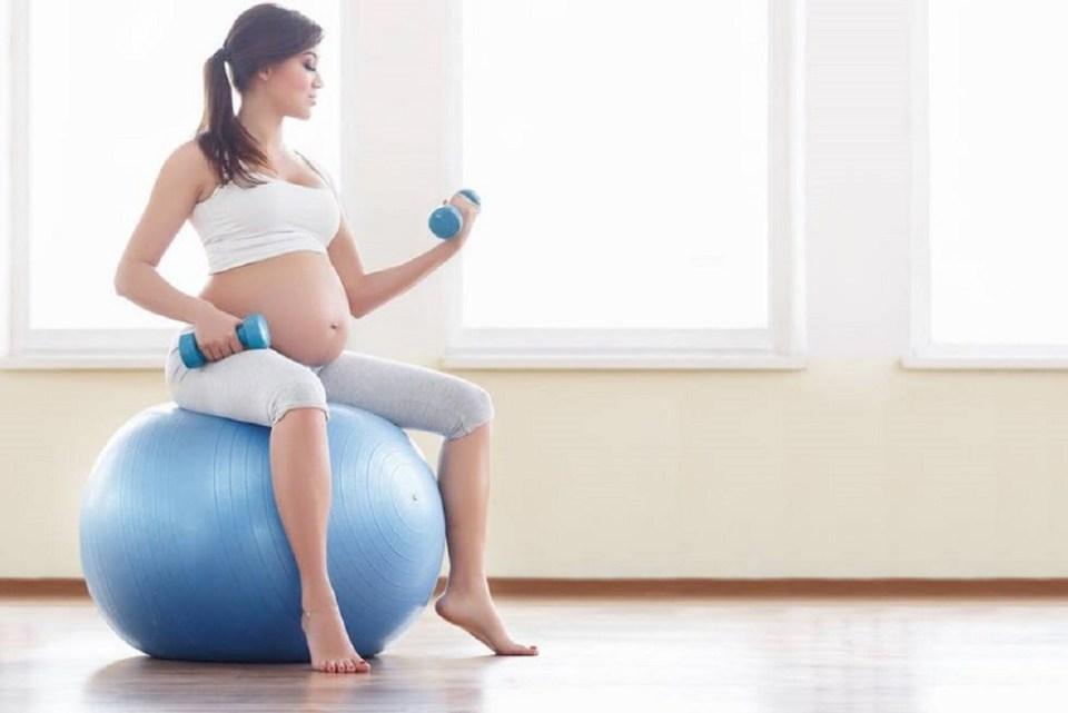 Beneficios del entrenamiento de fuerza durante el embarazo
