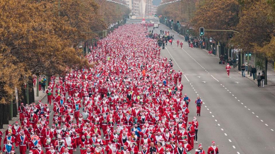 Carreras navideñas en España