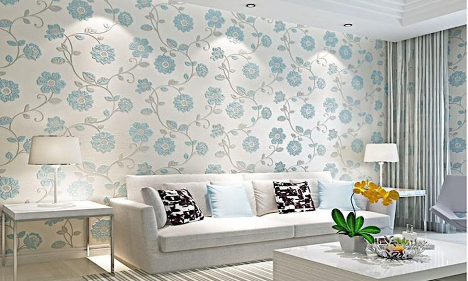 papeles pintados ecológicos de flores