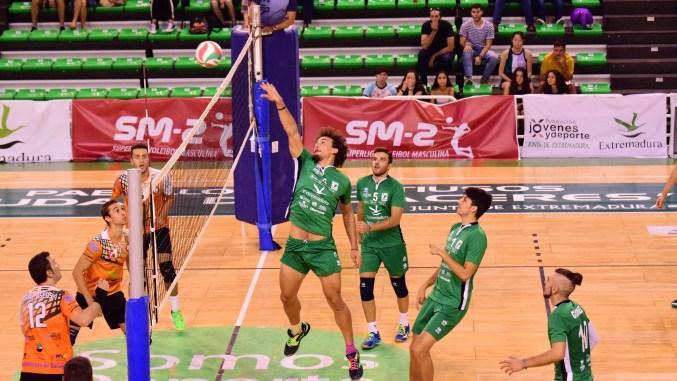 El Voleibol Extremadura CCPH jugará en el Teodoro Casado en la octava jornada de la Superliga2