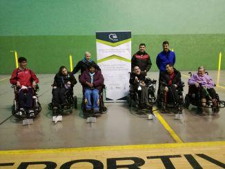 Jornada de promoción y captación de deportista de Hockey en Silla de Ruedas Eléctricas en Cáceres