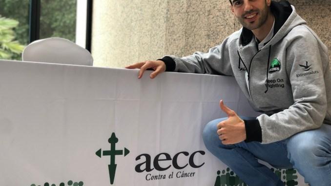 Luis Parejo revive su experiencia como voluntario con la AECC