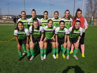 Empate a cero del CF Femenino Cáceres ante el CD Híspalis