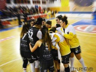 Rueda de prensa previa al partido Snatt's Femení Sant Adrià - Nissan Al-Qázeres Extremadura