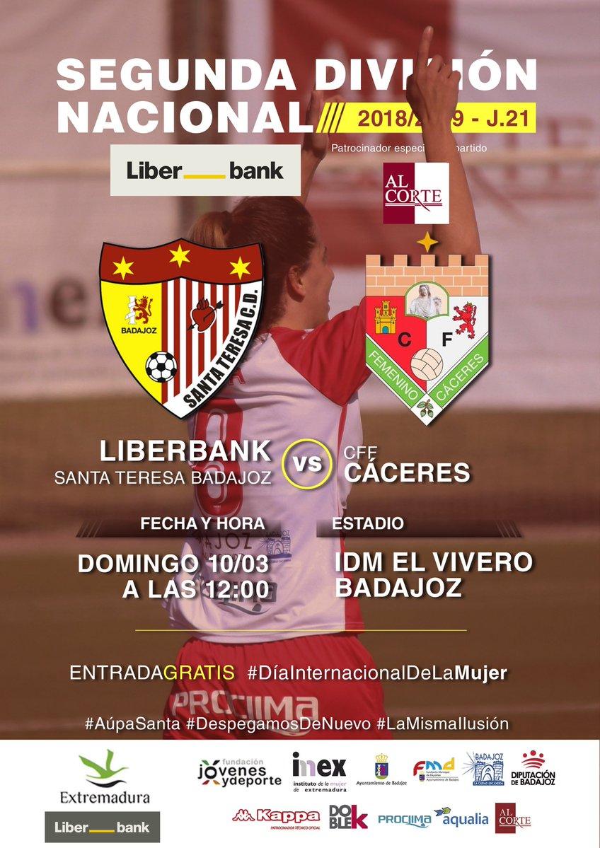 Santa Teresa vs CFF Cáceres