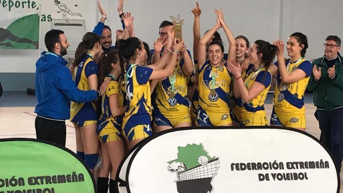 CP Licenciados Reunidos campeón de Extremadura Sénior