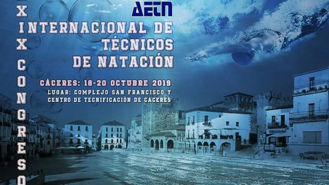 Presentado el cartel del XXXIX Congreso Internacional de Técnicos de Natación