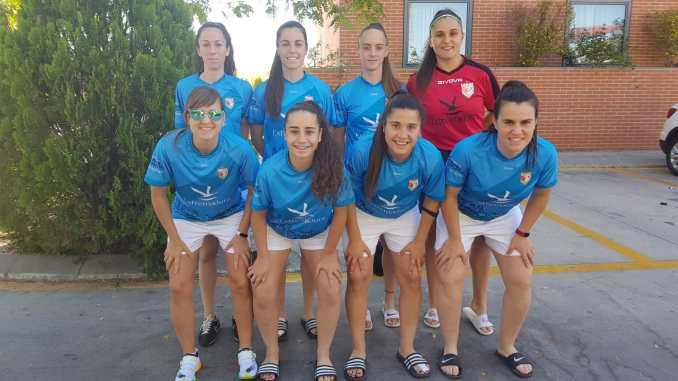 El CF Femenino Cáceres está disputando la primera Liga de Fútbol Playa