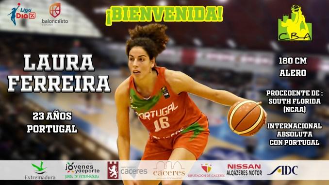 Laura Ferreira, nueva jugadora del Nissan Al-Qázeres Extremadura
