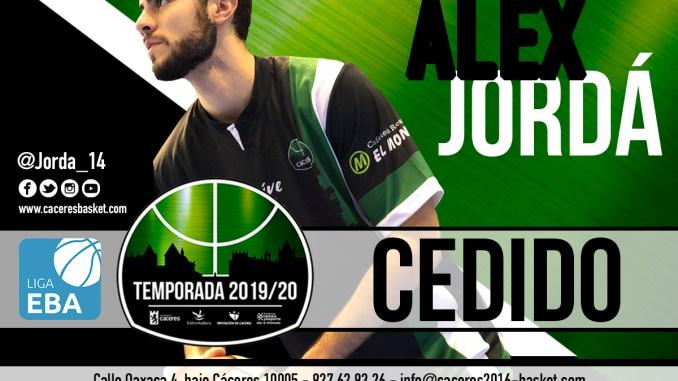 El escolta Alex Jordá jugará cedido en el CB Clavijo