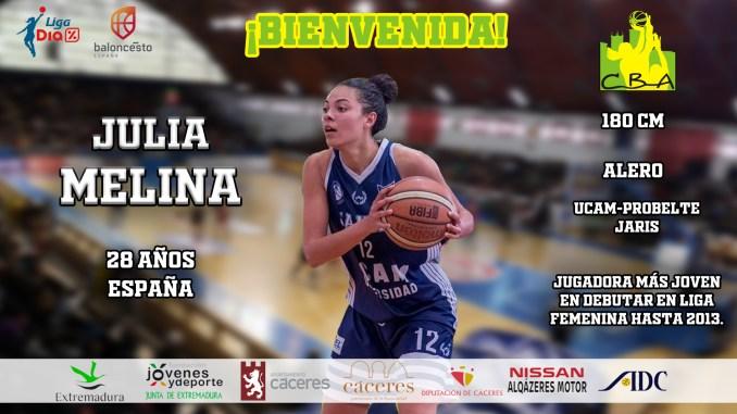 Julia Melina, último refuerzo del Nissan Al-Qázeres Extremadura