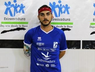 Jorge Gómez Durán se incorporó al Extremadura CCPH esta semana