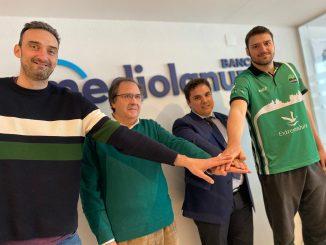 El Cáceres presenta a Paco del Águila en Banco Mediolanum