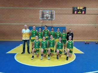 Participación del equipo infantil del Al-qázeres ADC en la Mini Copa de la Reina