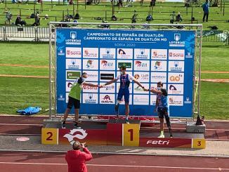 Kini Carrasco Subcampeón de España de Duatlón en Soria
