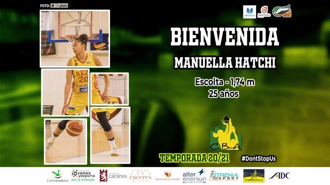 Manuella Hatchi, nueva jugadora del Alter Enersun Al-Qázeres Extremadura