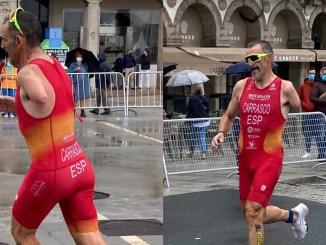 Kini Carrasco vuelve a subir a un podio internacional en A Coruña