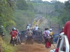 Travesía entre San Pedro y Saltos del Moconá
