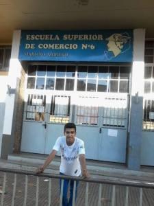 Ramiro González, otro de los juveniles misioneros que seleccionó River Plate