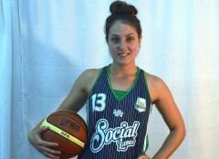 La alero de Social Lanús, Julieta Alé, una de las posibles figuras de Tokio para jugar la Superliga