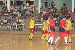 Darío Herrera, la gran figura paraguaya (Foto Sólo Futsal)