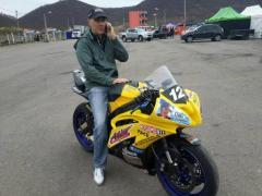 """Sin correr, """"Pipo"""" Giordano sigue como líder en la stock bike (Foto El Territorio)"""