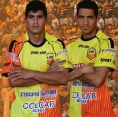 Adrián Alegre y José Dujaut serían titulares ante Racing en el Cilindro de Avellaneda (Foto club Crucero del Norte)