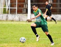 Gastón Torres, que anotó el 1-0 del Verde ante Guaraní, buscará seguir de racha (Foto: Facundo Correa, El Territorio)
