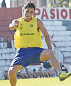 Manuel Sánchez Ocaña, la cuota goleadora de Bartolomé Mitre